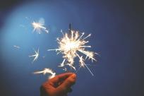Lighting a spark